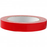 Canvas Tape, B: 19 mm, Rood, 25 M, 1 Rol