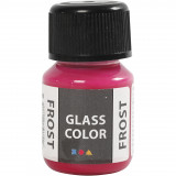 Glass Color Frost, Rood, 30 ml, 1 Fles