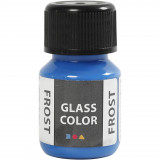 Glass Color Frost, Blauw, 30 ml, 1 Fles