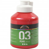 A-color Acrylverf, 03, Metallic, Rood, 500 ml, 1 Fles