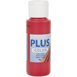 Plus Color Acrylverf, Berry Red, 60 ml, 1 Fles