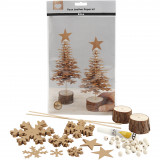 Faux Leather Kerstboom, 0,55 mm, 1 Set