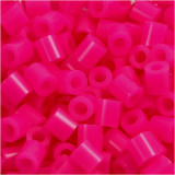 Strijkkralen, 5x5 mm, 2,5 mm, Medium, Cerise (32258), 6000 Stuk, 1 Doos