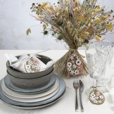 Hangende decoraties met deco folie