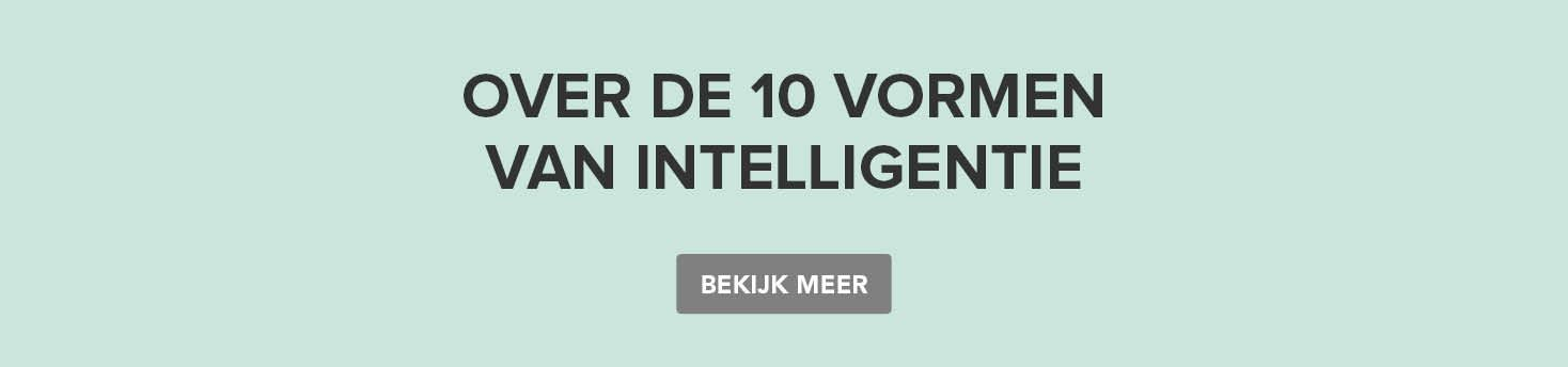 Creative learning - about the 10 intelligences
